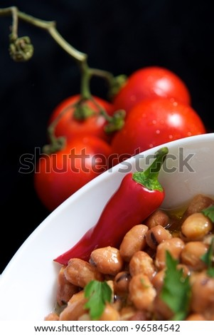 Gourmet Cuisine - stock photo