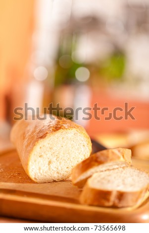 Gourmet fresh bread