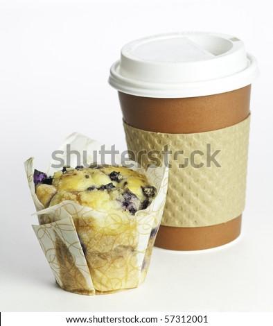 gourmet on the go breakfast - stock photo