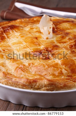 gourmet pie - stock photo