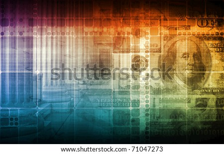 Government and Economy on Monetary Laws Abstract - stock photo