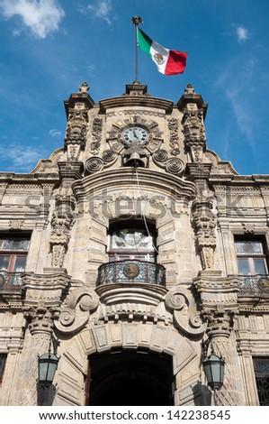 Government Palace, Guadalajara (Mexico) - stock photo