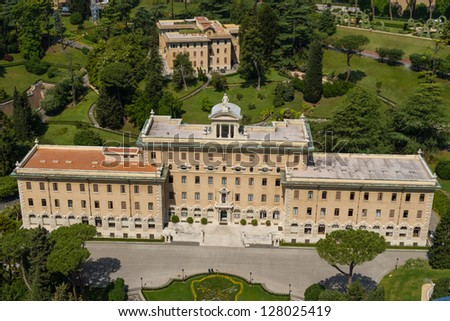 Governorate of Vatican City State in Rome, Italy