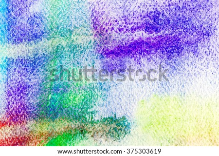 Gradation watercolor on paper abstract background.
