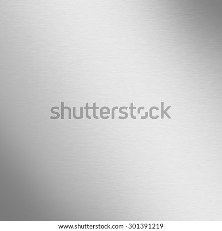 gradient background silver metal texture pattern - stock photo
