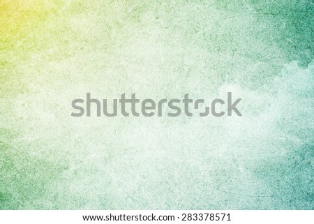gradient color on designed grunge cloud texture, abstract background - stock photo