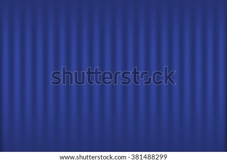 Gradient Dark Blue Curtain-Like Background Wallpaper Illustration