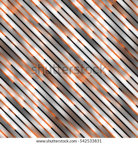 Gradient Neon Motion Lines. Seamless Multicolor Pattern