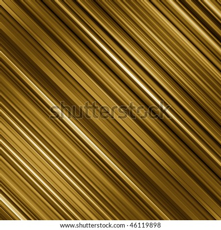Graduated gold and yellow colors diagonal stripes abstract background. - stock photo