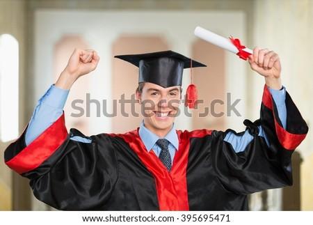 Graduation. - stock photo