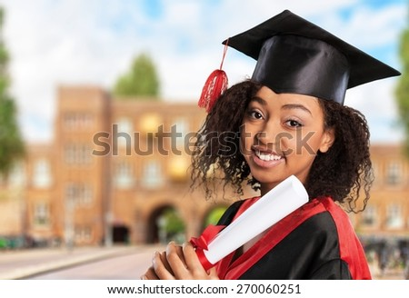 Graduation. Achievement - stock photo
