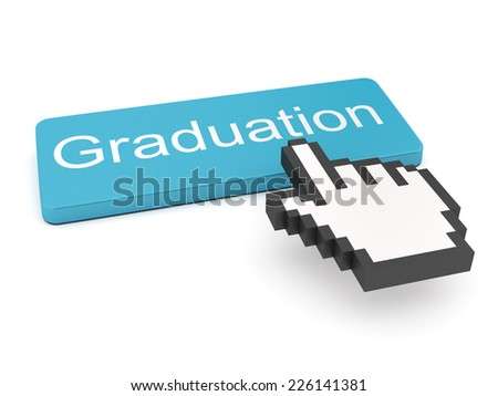 Graduation Button on Keyboard