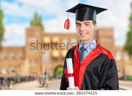 Graduation, Latin American and Hispanic Ethnicity, Student. - stock photo