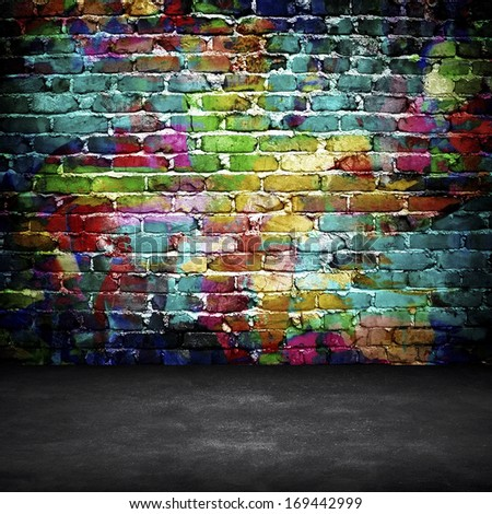 brick wall graffiti stock images royaltyfree images