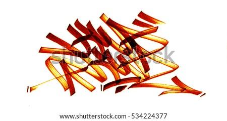 graffiti sketch dessin kwakwa feutre - Dessin Graffiti