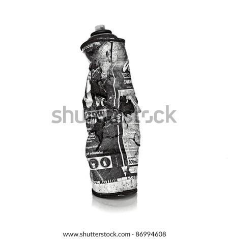Graffiti Spraydose - stock photo