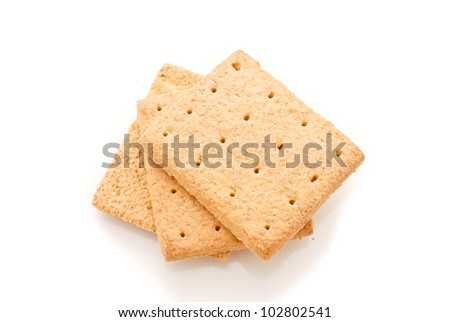 Graham Crackers - stock photo