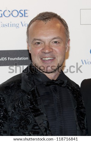 Graham Norton arriving for the Grey Goose Ball 2012, Battersea Power Station, London. 10/11/2012 Picture by: Simon Burchell - stock photo
