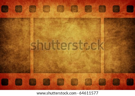 grain film strip with space for your image