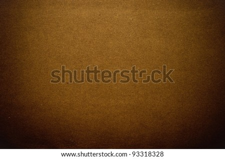 Grainy brown paper in dark tone - stock photo