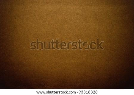Grainy brown paper in dark tone - stock photo