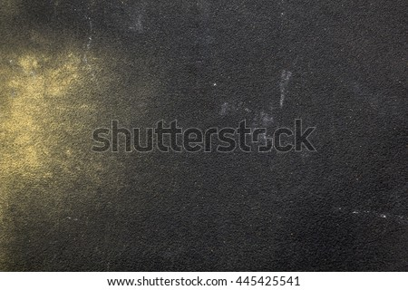 Grainy texture of sandpaper with wood shavings - stock photo