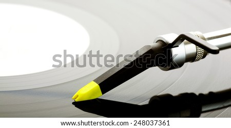 Gramophone. - stock photo