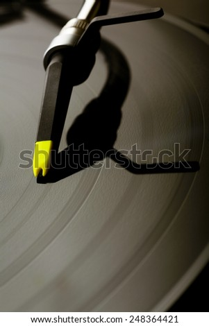 gramophone - stock photo
