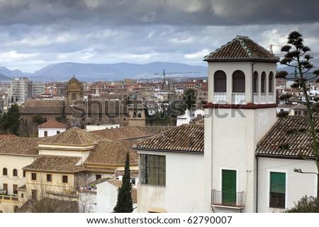 Granada, Spain - stock photo