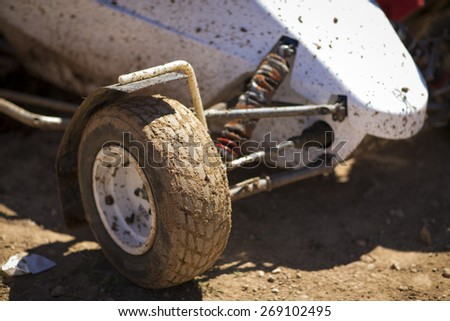 "GRANADA, SPAIN - MARCH 29: II Autocross championship ""El Chaparral"", March 29, 2015 Granada, Spain."