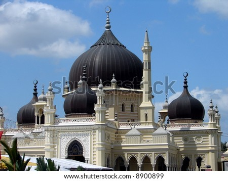 Grand  authentic Islamic Mosque - stock photo