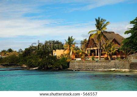 Grand Bay, Mauritius - stock photo