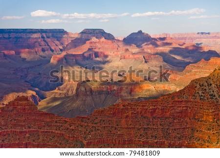 Grand Canyon at sunset - stock photo
