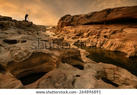 Grand canyon in thailand  - stock photo