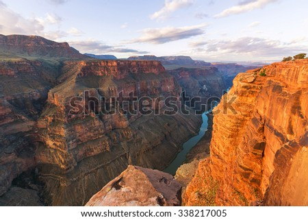 Grand Canyon in USA - stock photo