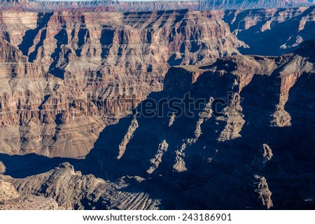 Grand Canyon Mountain Layer at the Guano Point West Rim
