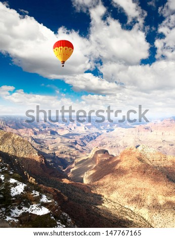 Grand Canyon National Park in Arizona, USA    - stock photo