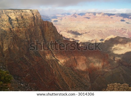 Grand Canyon National Park in the morning