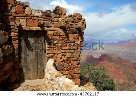 Grand Canyon National Park (South Rim), USA - stock photo