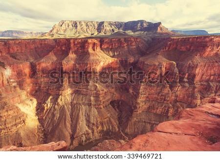 Grand Canyon National Park, USA - stock photo