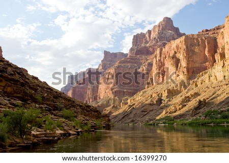 Grand Canyon - Palisades of the Desert - stock photo