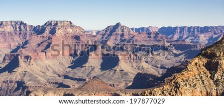 Grand Canyon - South rim landscape