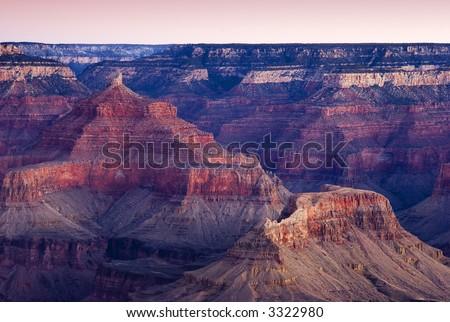 Grand Canyon Sunrise - stock photo