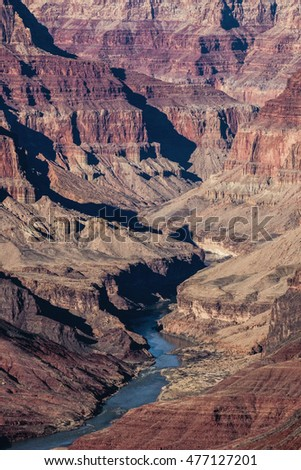 Grand Canyon with River.