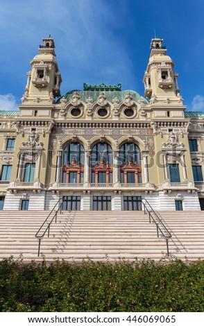 Grand Casino in Monte Carlo, Monaco - stock photo