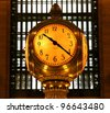 Grand Central Clock - stock photo