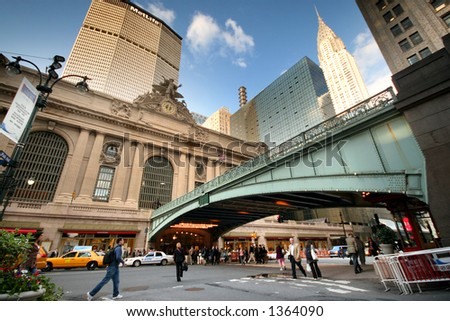 Grand Central -Manhattan-New York - stock photo