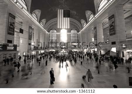 Grand Central - New York - stock photo
