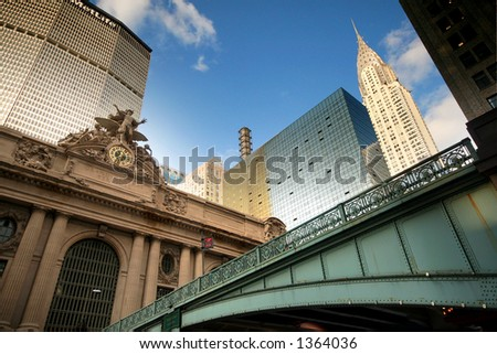 grand central - new york - manhattan - stock photo
