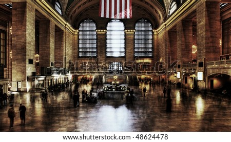 Grand Central Station. - stock photo